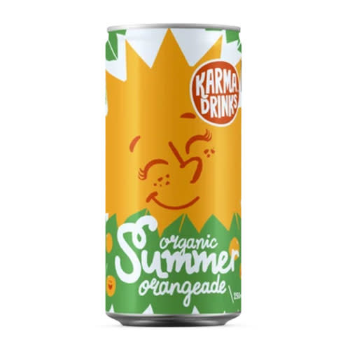 All Good Organics All Good Organics Summer Orangeade can
