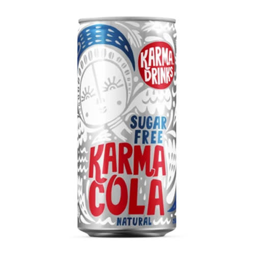 All Good Organics All Good Organics Karma Cola Sugar Free can
