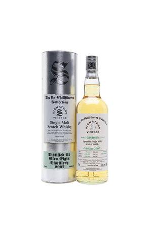 Signatory Signatory Vintage 2007 12 Year Old Single Malt Scotch Whisky Distilled at Glen Elgin