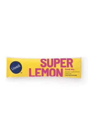 Liweli Liweli CBD Super Lemon Drink Mix Starter Kit