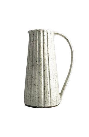 Kate Garwood Kate Garwood Stoneware Jug with White Sparkle Glaze