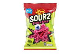 Allen's Allen's Sourz Frogs Alive 170g