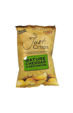 Just Crisps Just Crisps Mature Cheddar Red Onion 150g