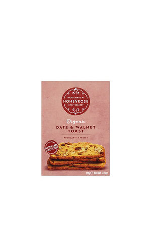 Honeyrose Honeyrose Date & Walnut Toast (Gluten Free) 110g