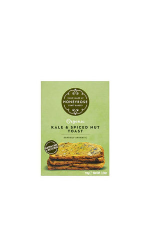 Honeyrose Honeyrose Kale & Spiced Nut Toast (Gluten Free) 110g
