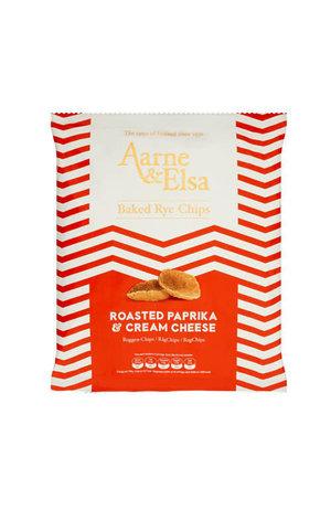 Aarne & Elsa Aarne & Elsa Roasted Paprika & Cream Cheese Baked Rye Chips 150g