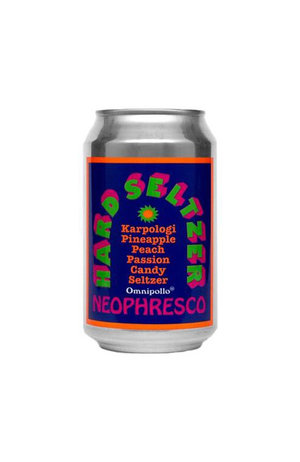 Omnipollo Omnipollo Neophresco Karpologi Pineapple Peach Passion Candy Seltzer