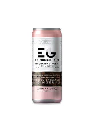 Edinburgh Gin Edinburgh Gin Rhubarb, Ginger Liqueur, Gin & Ginger Ale