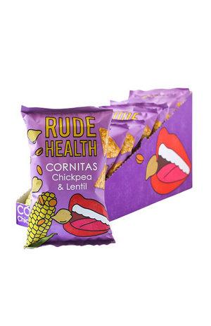 Rude Health Rude Health Chickpea & Lentil Cornitas 90g