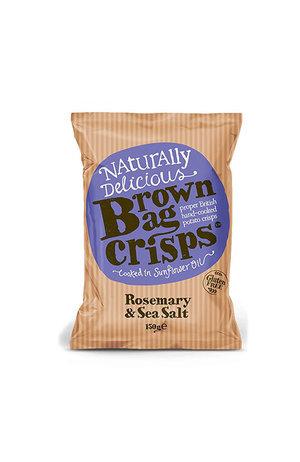 Brown Bag Crisps Rosemary & Sea Salt Crisps 150g