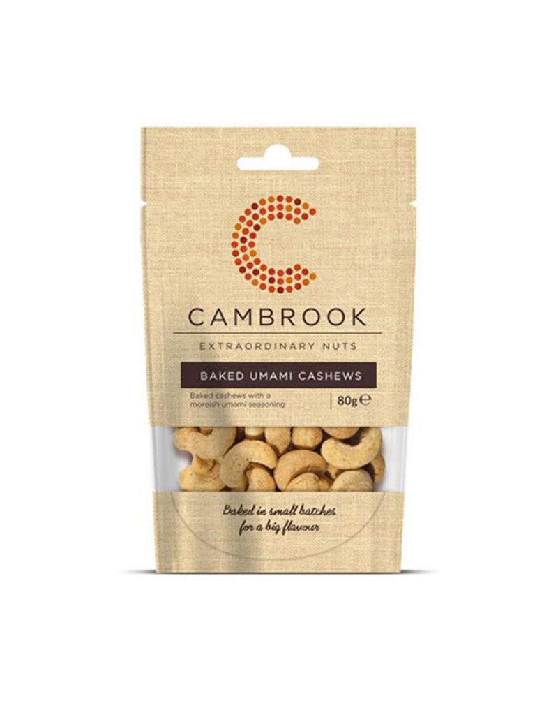 Cambrook Cambrook Baked Umami Cashews 80g