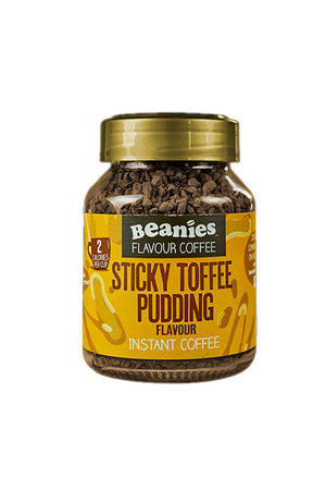 Beanies Coffee Beanies Coffee Sticky Toffee Pudding Flavour Instant Coffee 50g