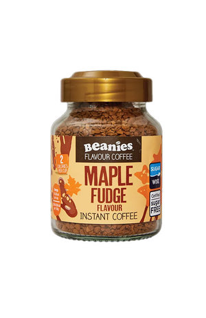 Beanies Coffee Beanies Coffee Maple Fudge Flavour Instant Coffee 50g