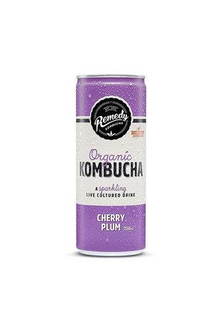 Remedy Remedy Organic Kombucha Cherry Plum can