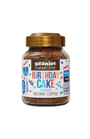 Beanies Coffee Beanies Coffee Birthday Cake Flavour Instant Coffee 50g
