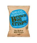 Brown Bag Crisps Brown Bag Crisps Sea Salt & Malt Vinegar Crisps 150g