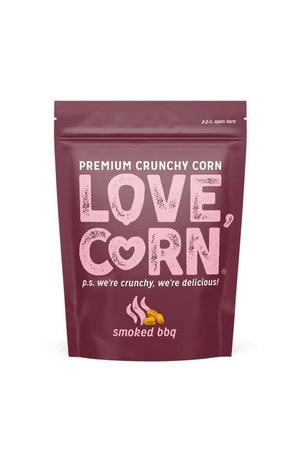 Love Corn Love Corn Smoked BBQ 115g