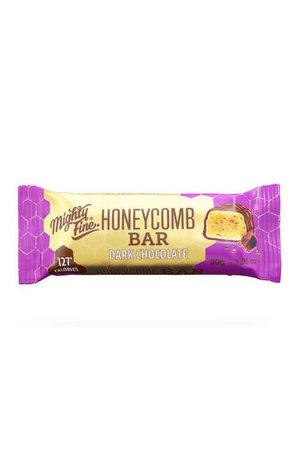 Mighty Fine Mighty Fine Dark Chocolate Honeycomb Bar 30g