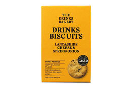 The Drinks Bakery The Drinks Bakery Lancashire Cheese & Spring Onion 110g