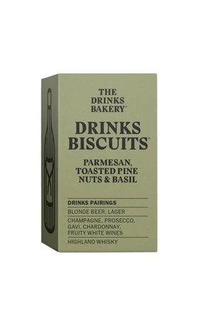 The Drinks Bakery The Drinks Bakery Parmesan Toasted Pinenut & Basil 36g