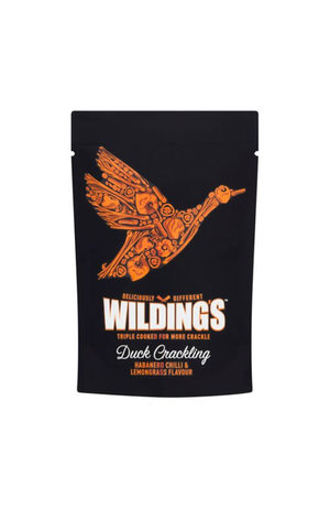 Wilding's Wilding's Habanero Chilli & Lemongrass Duck Crackling 25g