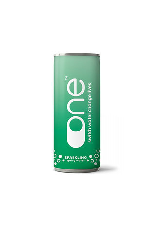 One Water One Water Sparkling Water in a Can