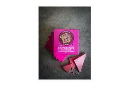 Willies Cacao Willie's Cacao Raspberries & Cream, White Chocolate with Raspberries 50g