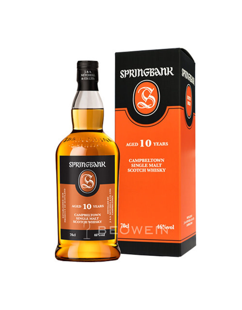 Springbank Springbank 10 Years Old Single Malt Scotch Whisky, Campbeltown