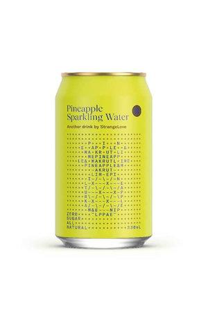 StrangeLove StrangeLove Pineapple Sparkling Water