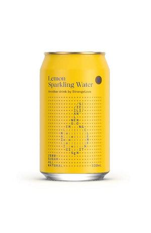 StrangeLove StrangeLove Lemon Sparkling Water