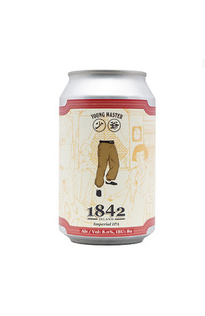 Young Master Young Master 1842 Island Imperial IPA Can