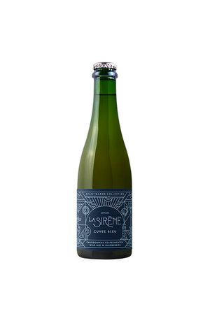 La Sirene La Sirene Cuvee Bleu Chardonnay Co-Fermented Wild Ale with Blueberry