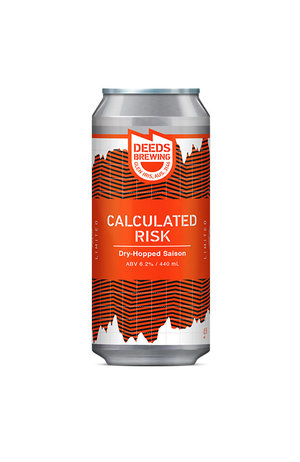 Deeds Brewing Deeds Calculated Risk Dry Hop Saison