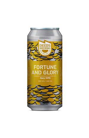 Deeds Brewing Deeds Fortune and Glory Double Hazy IPA