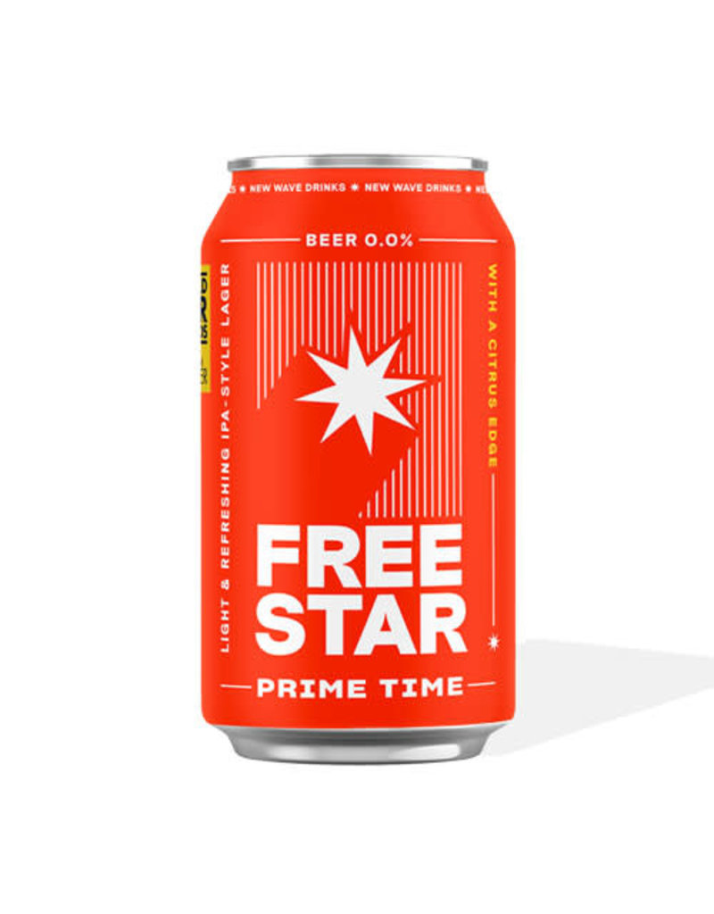 Freestar Freestar Beer can (0.0% Alcohol Free)