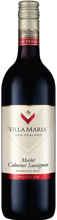 Villa Maria Villa Maria Private Bin Merlot Cabernet 2015, Hawkes Bay, New Zealand