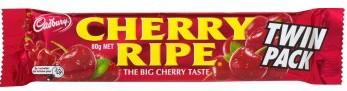 Cadbury Cherry Ripe Twin Pack 80g