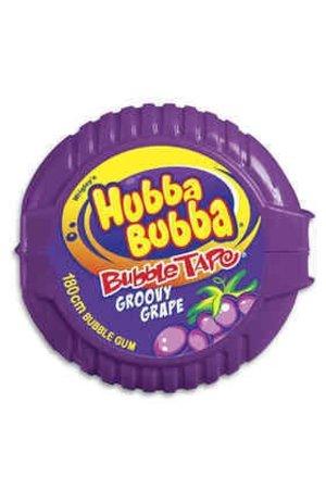 Hubba Bubba Hubba Bubba Bubble Tape Groovy Grape 56g