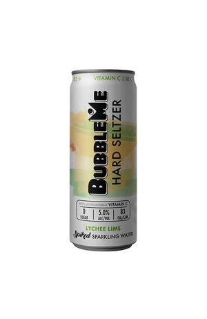 Bubble Me Bubble Me Lychee & Lime Seltzer