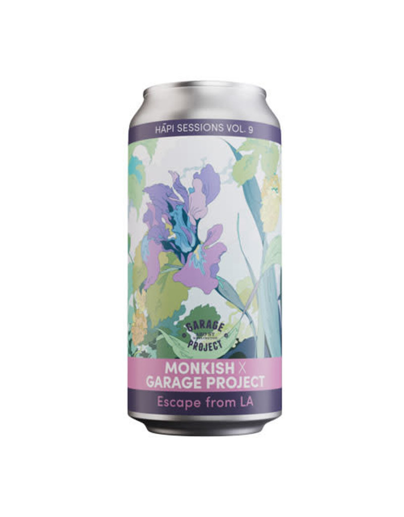 Garage Project Garage Project x Monkish Hāpi Sessions Vol. 9 Escape From LA Imperial/ Double Hazy (NEIPA)