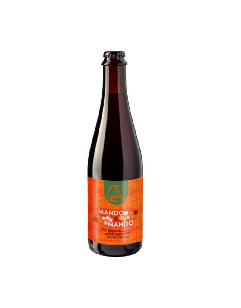 8Wired Brewing 8Wired Mando A Mando Dry Hopped Barrel Aged Sour with Mandarins