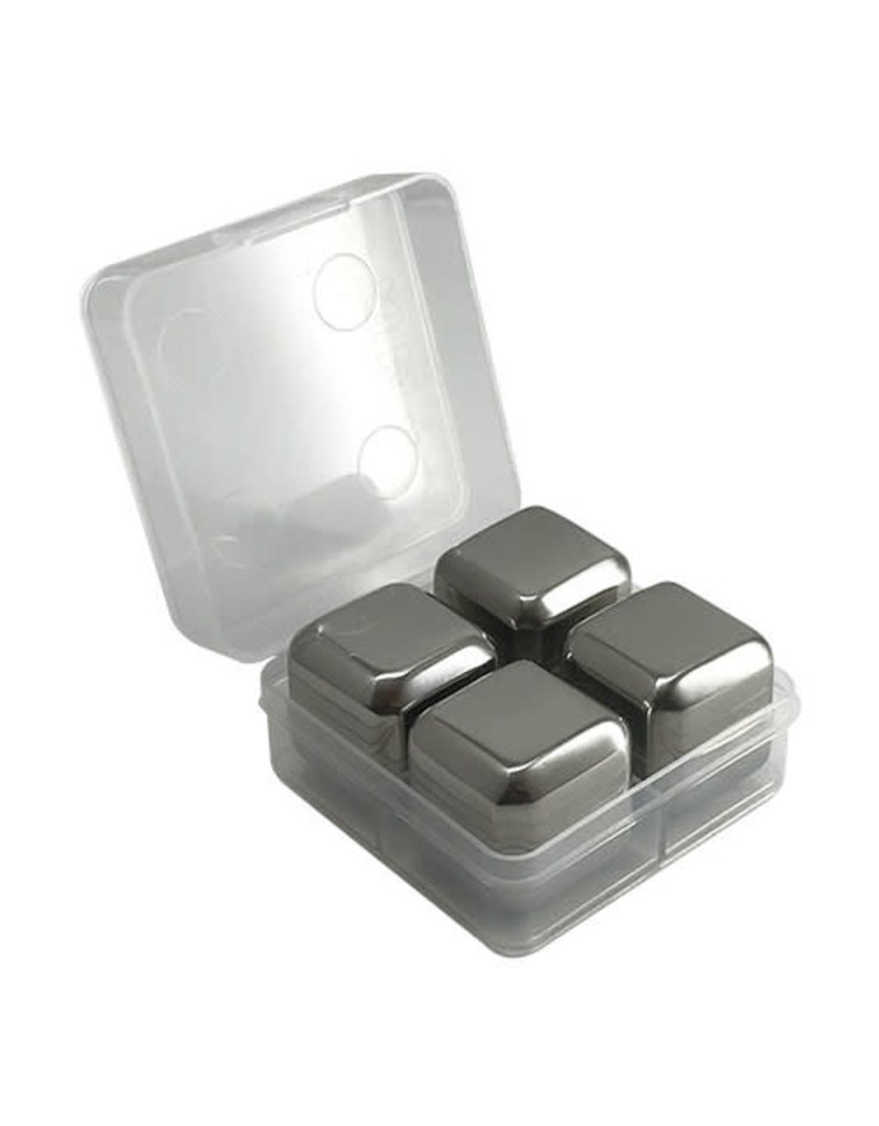 Stainless Steel Ice Cube 4-piece