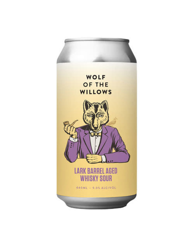 Wolf of the Willows Wolf of the Willows Lark Barrel Aged Whisky Sour