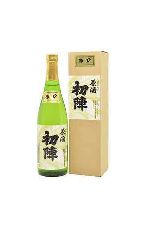 Uijin Uijin Dry Genshu Sake 初陣 辛口原酒 720ml