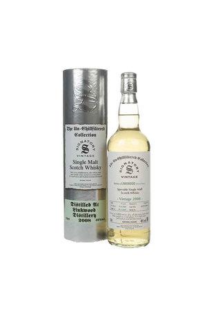 Signatory Signatory Linkwood 12 Year Old 2008  Un-Chillfiltered Collection Single Malt Speyside Scottish Whisky