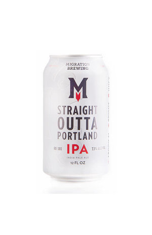 Migration Brewing Co Migration Brewing  Straight Outta Portland West Coast IPA