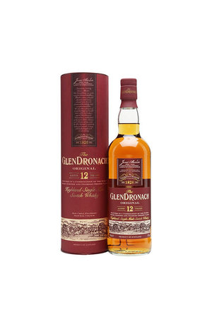 GlenDronach Glendronach 12 Year Old Original Single Malt Scotch Whisky, Highland