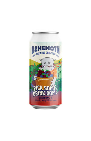 Behemoth Brewing Behemoth Pick Some, Drink Some Blueberry and Blackberry Sour Ale