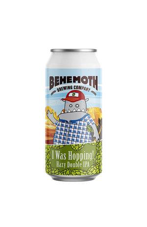Behemoth Brewing Behemoth I was Hopping Hazy Double IPA