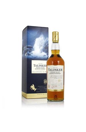 Talisker Talisker 18 Year Old Single Malt Scotch Whisky, Island